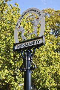 Normandy Sign