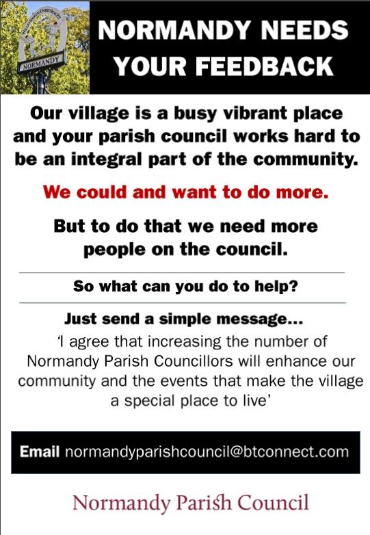 NPC poster for councillors