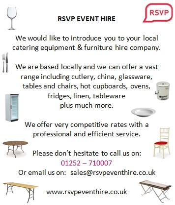 RSVP Event hire