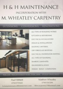 H&H maintenance carpentry