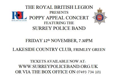 Surrey Police Band September 2021